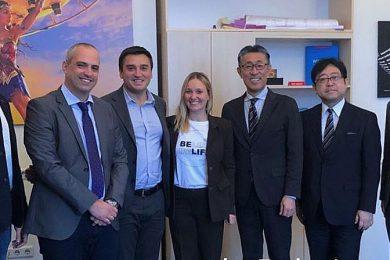 Встреча украинских и японских представителей. Источник: Министерство цифровой трансформации Украины