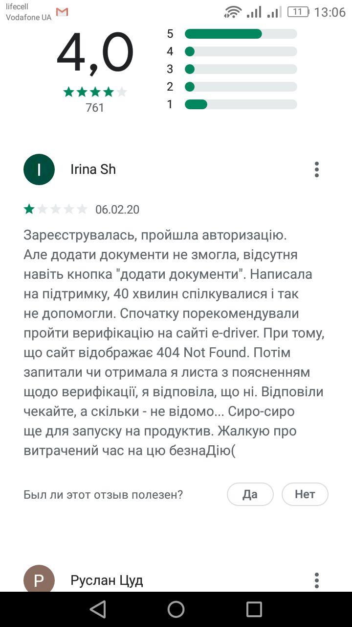 Отзывы на Google Play. Источник: MC.today