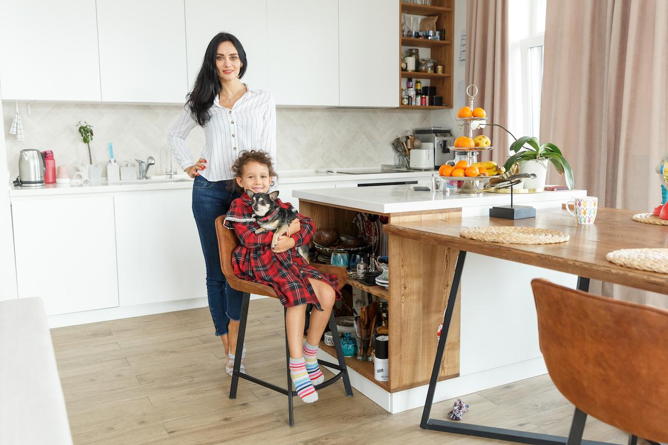 Катя Андреєва та її донька Єва