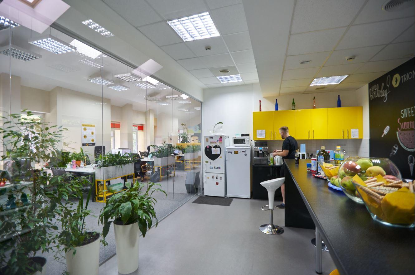 Кухня в офисе
