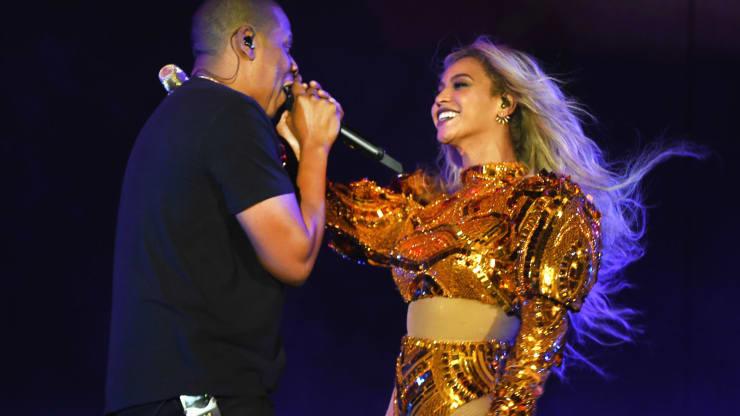 Выступление Бейонсе и Jay Z в Ист-Рузерфорде, Нью-Джерси, 7 октября 2016 год. Источник фото: Getty Images