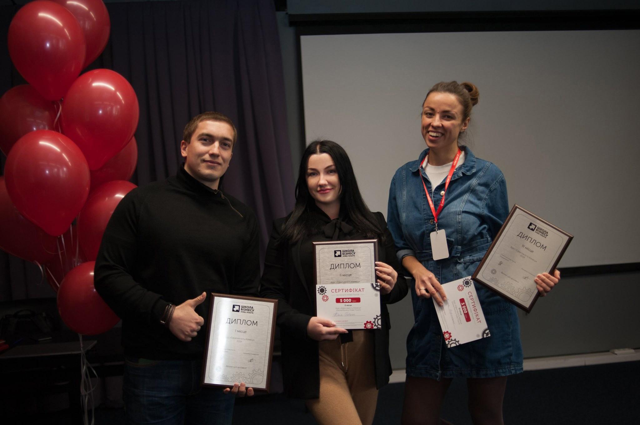 В 2019 году проект Юлии Гобыш победил в школе бизнеса «Нова Пошта»