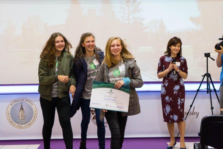 Команда-переможець 2017 року з Запоріжжя, яка розробила додаток Air Near