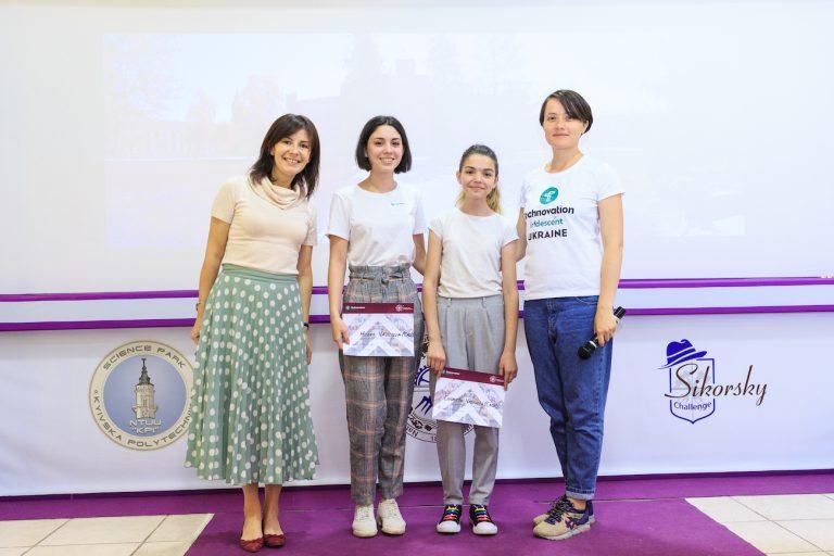Команда Мілени на українському конкурсі