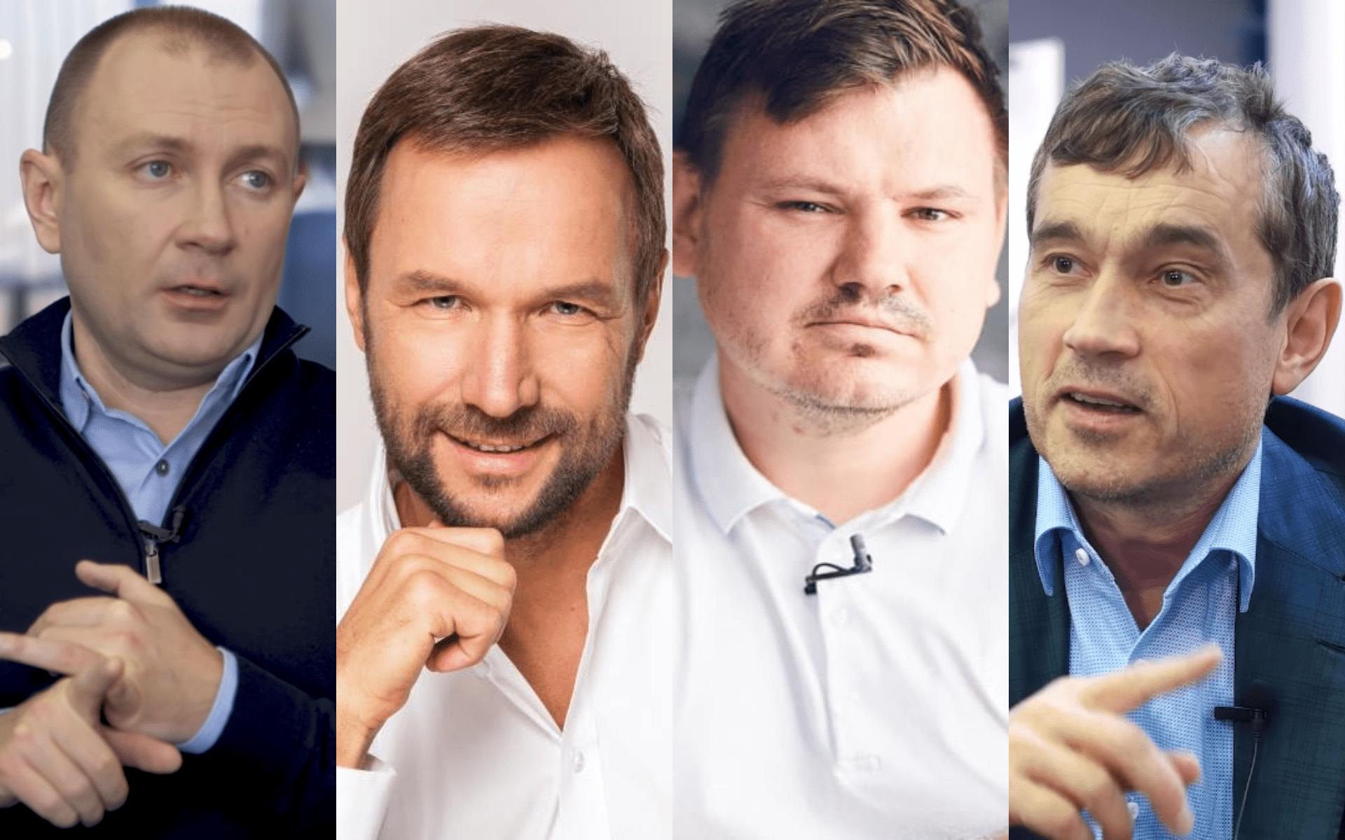 Климов, Антонов, Купер, Хмельницкий