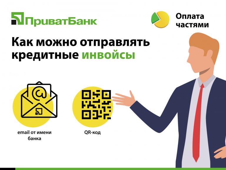 «Оплата частями» и «Мгновенная рассрочка» – сервисы от «ПриватБанка», с помощью которых магазины могут продавать свои товары в кредит онлайн.