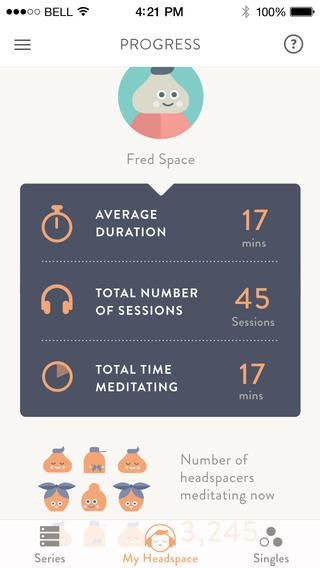 Headspace: Медитация для 62 миллионов