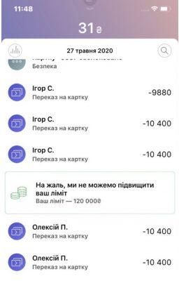 Транзакции мошенников