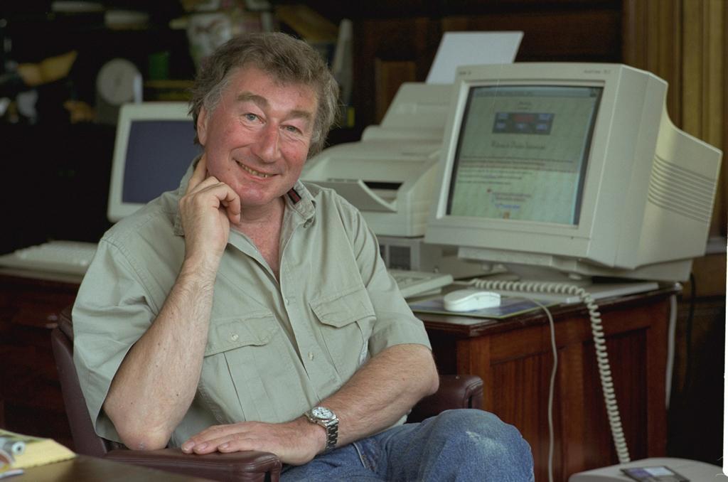 Джон Паттерсон в 1996 году. Фото: 1843magazine