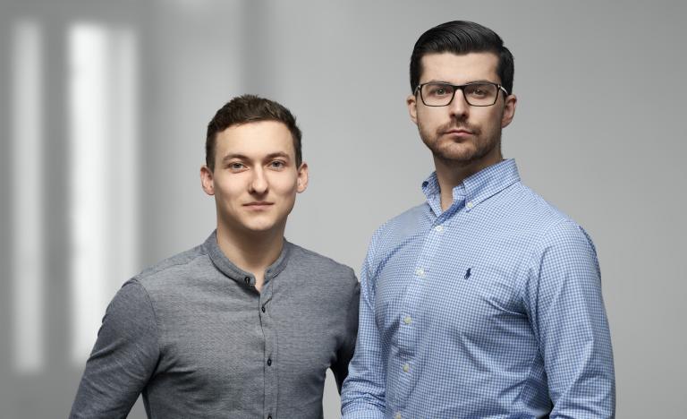 Андрей Криворчук и Русланом Дроздов