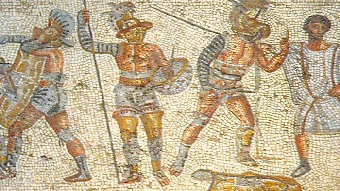 Древние римляне обожали физическую культуру, сильное тело и спорт. Фото: fightland.vice.com