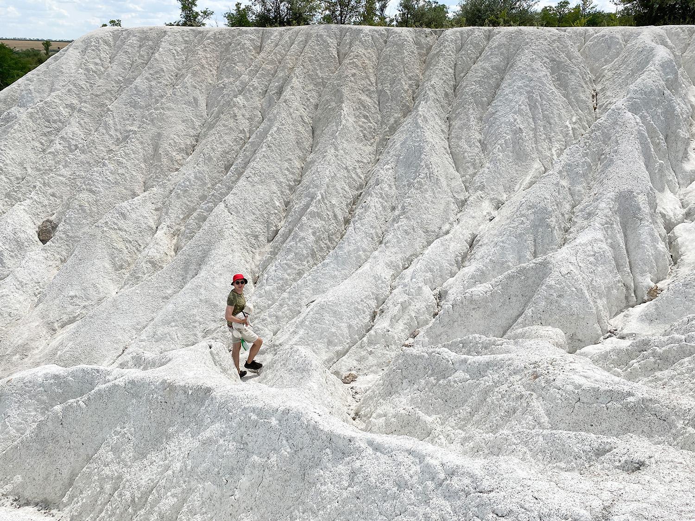 Білі скелі, білий каньйон, Белые скалы, белый каньон