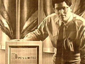 Майкл Делл в 1984 году. Источник: Entrepreneur.com