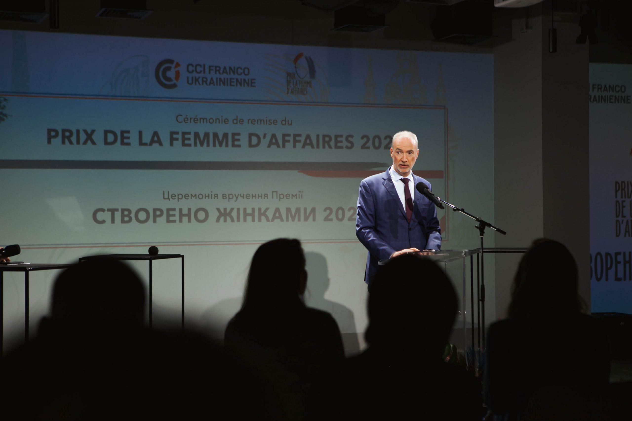 Этьен де Понсен, посол Франции в Украине, почетный президент жюри