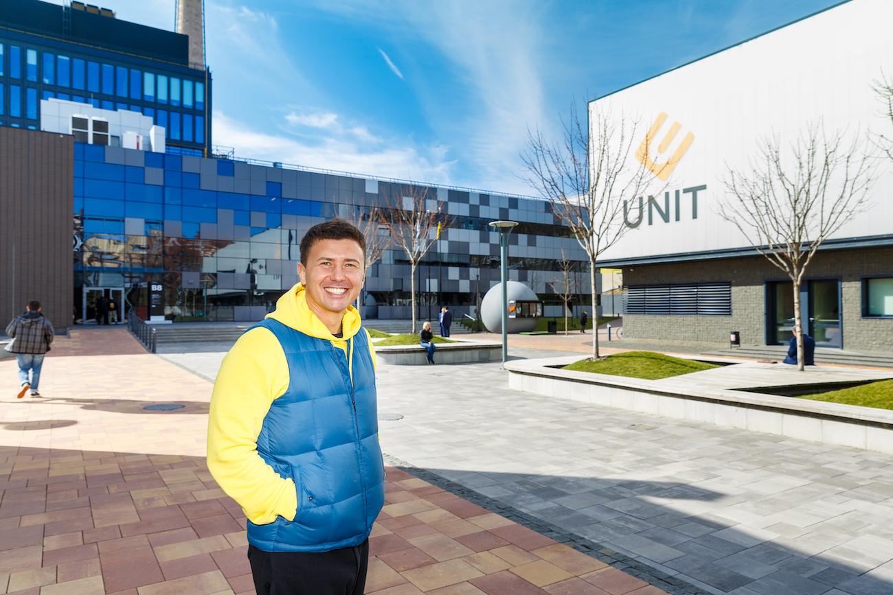 В UNIT Андрею Буренок нравится атмосфера постоянного развития