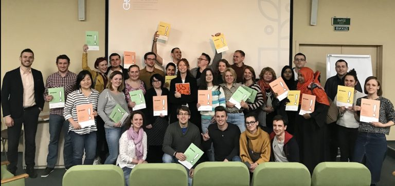 Выпускники курса «Фудпросвіта»