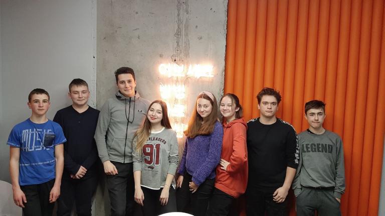 Фото: наша группа по HTML и CSS в офисе компании Sigma