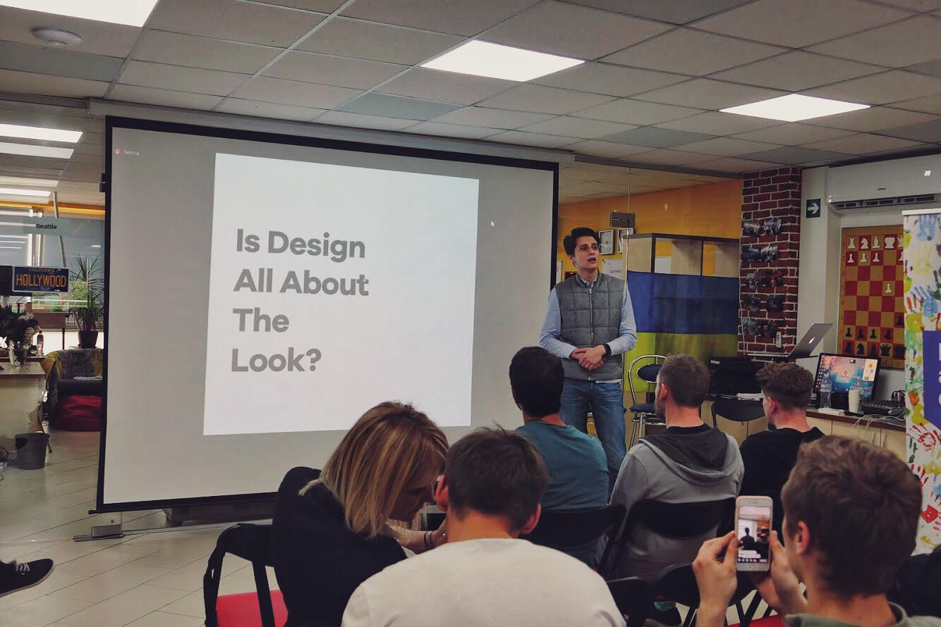 Фото: презентация финального проекта по UX курсу в Provectus