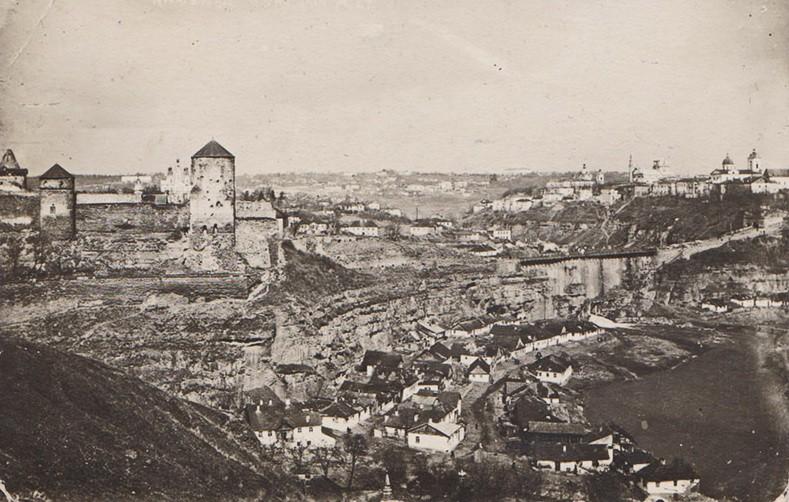 Каменец-Подольский в первой четверти 20 столетия/ Фото: kamienec.livejournal.com