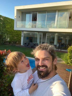 Анатолий Летаев с сыном