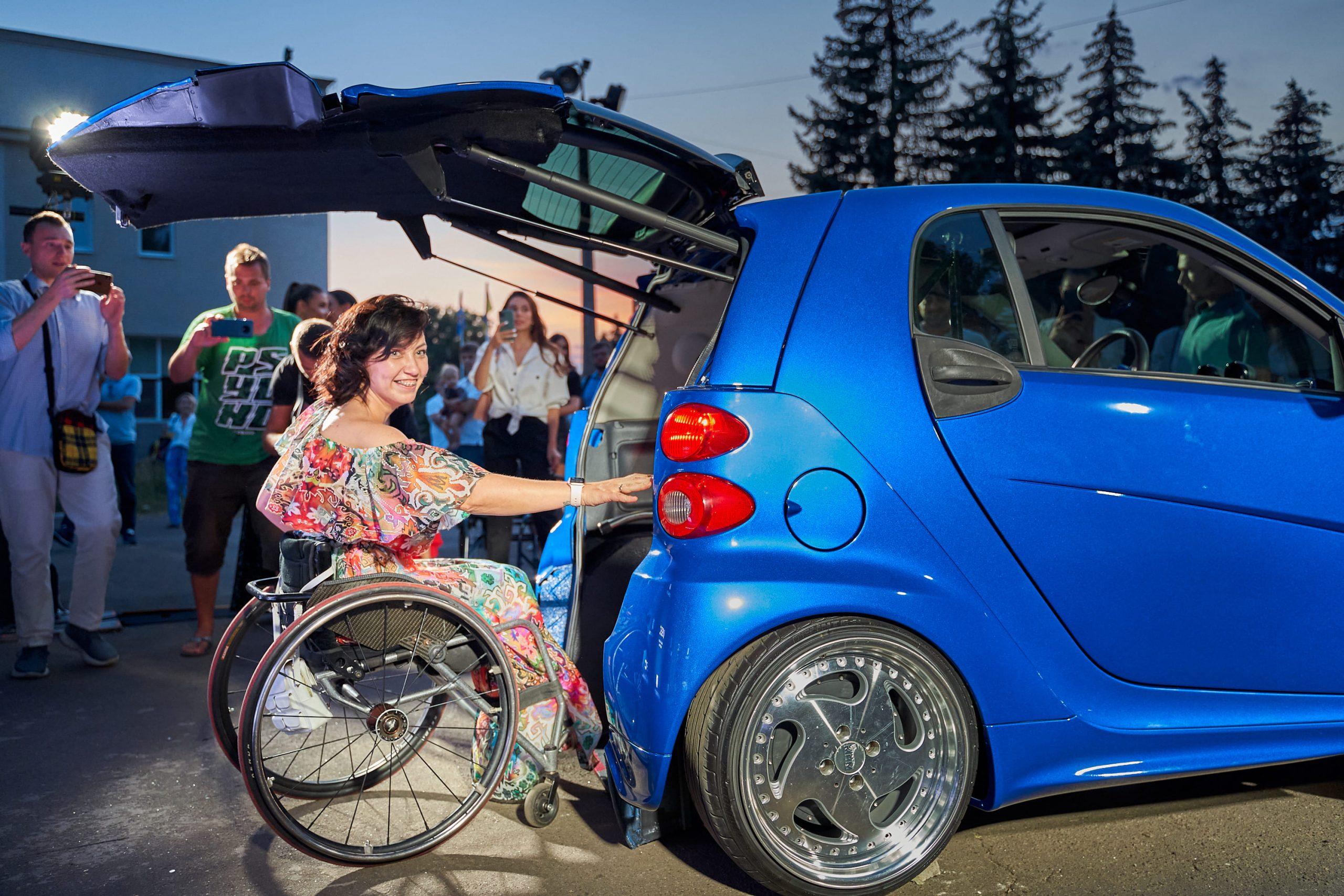 автомобиль для людей с инвалидностью