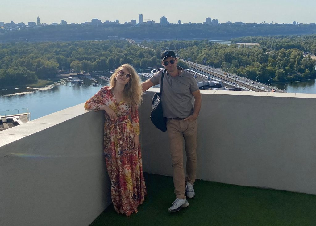 Максим Слободянюк и Свитланка Сергийчук