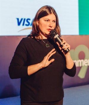 Кристина Кармазина, руководитель направления Digital Продуктов «ПриватБанка»