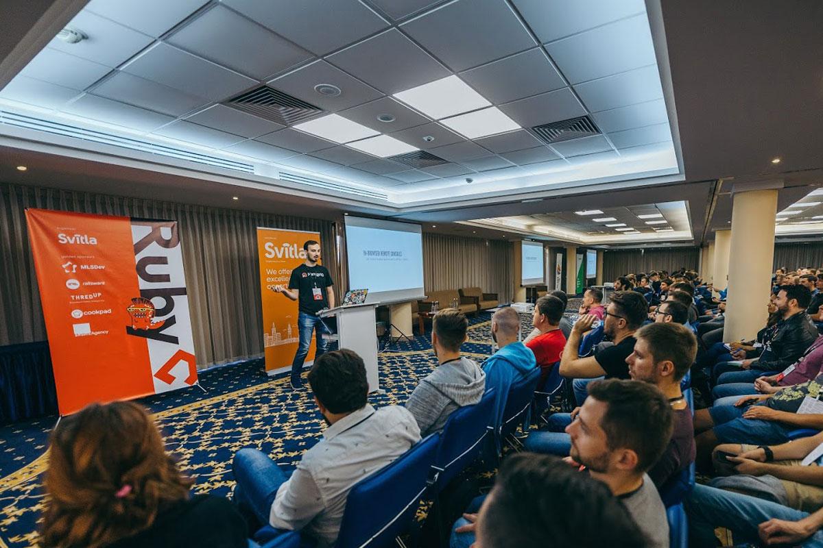 На конференції RubyC
