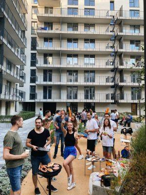 Вечеринка жителей Rybalsky