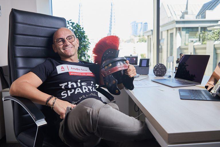 Рафал Ющак, генеральный менеджер «Альфа-Банк Украина»