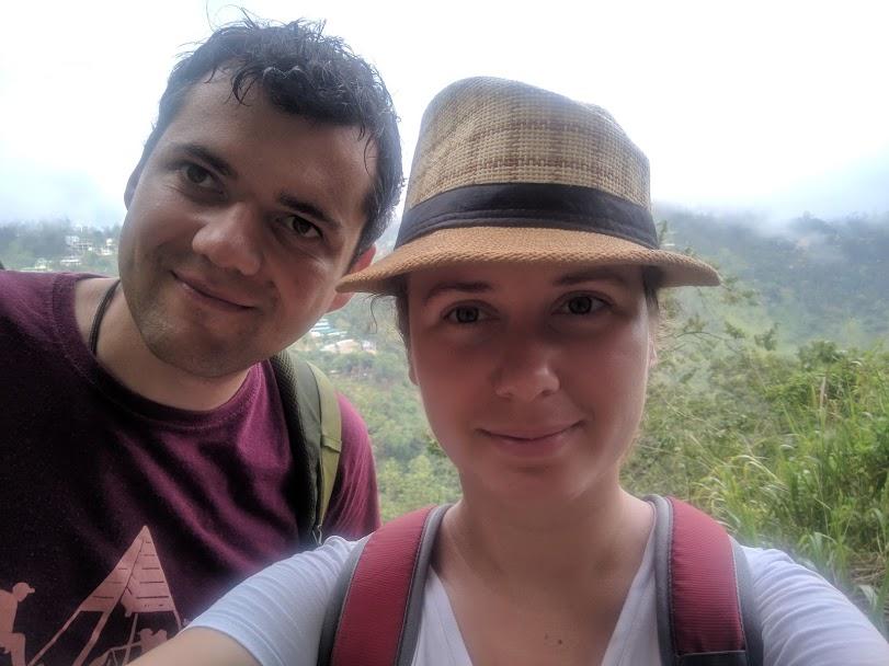 Вера Черныш и Тимур Ворона на Шри-Ланке