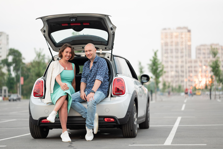 Дмитрий Корчевский и его жена Анастасия Каменская