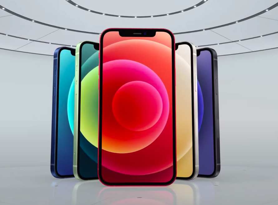 iPhone12/Скриншот презентации