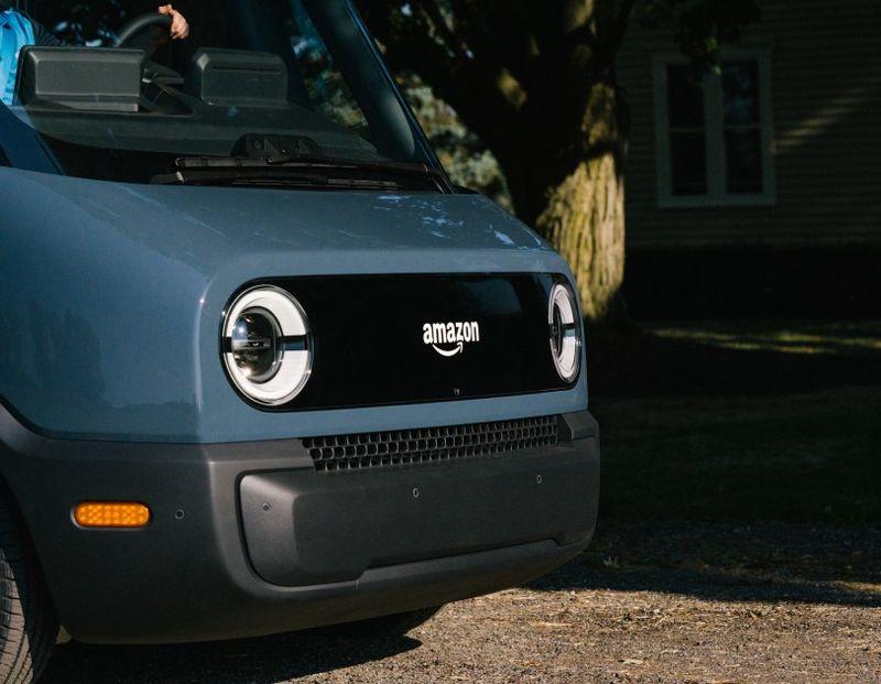 Фургон Amazon