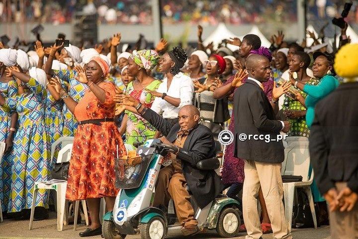 Церкви и проповедники Нигерии/Источник фото: Facebook-страница Pastor Enoch Adeboye
