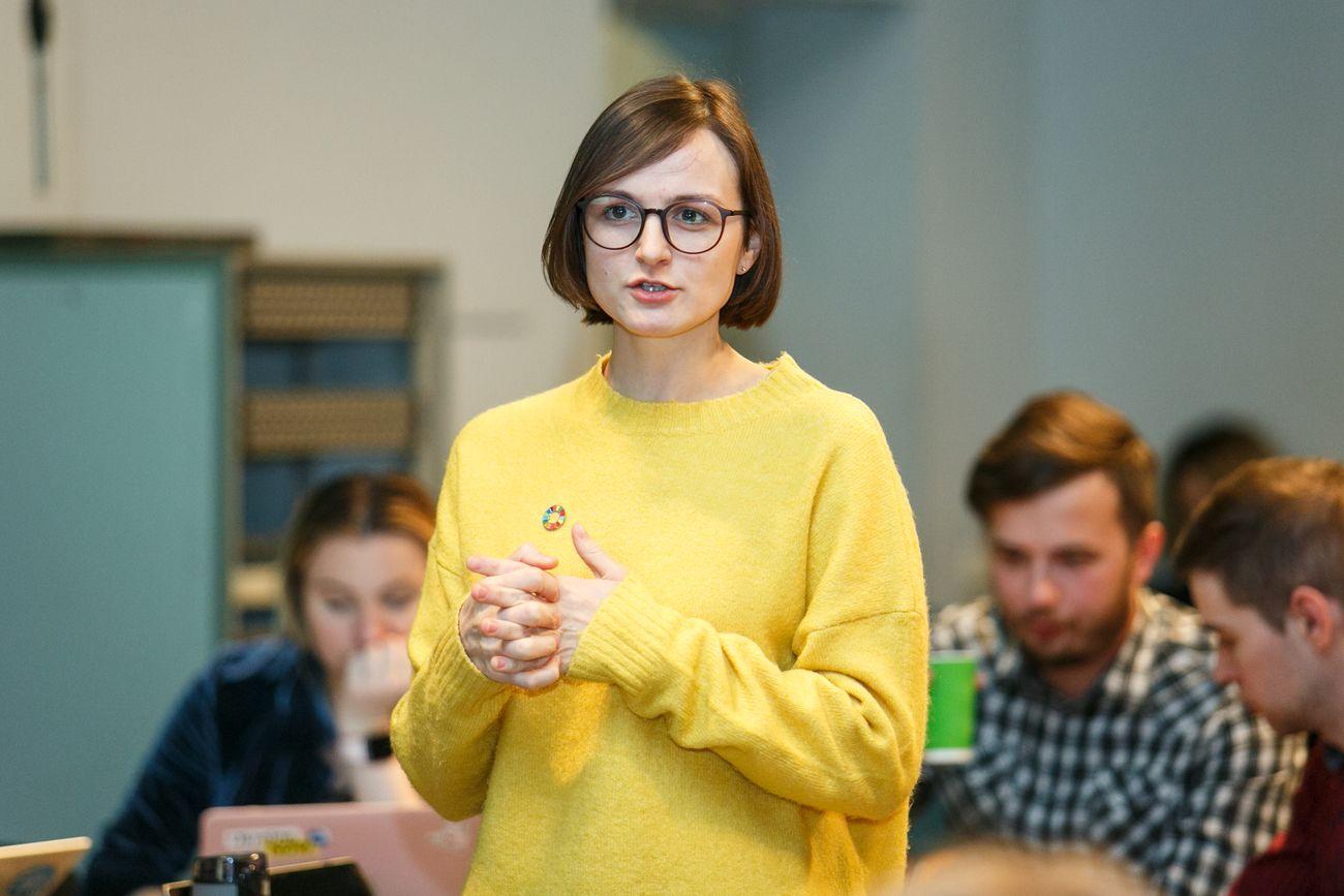 Команда: Олеся Вершигора, Андрій Литвин
