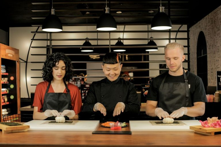 Мастеркласс Тим Тена по приготовлению суши