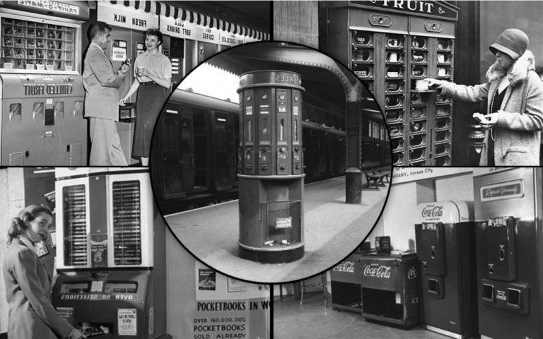 Торговые автоматы впервые появились в США в 1880-х. Источник фото: vending.expert