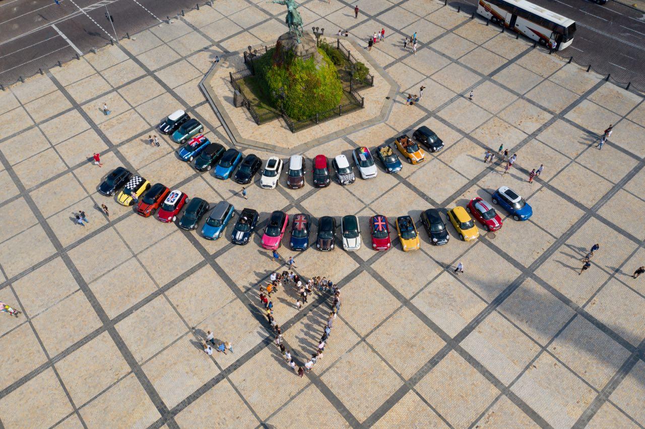 Празднование 60-летия MINI. Автор фото: JLuzan
