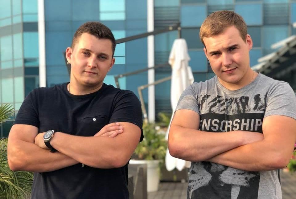 Денис Метельский и Кирилл Ёлкин, основатели Воздушной мастерской Kapriz, обоим по 23 года