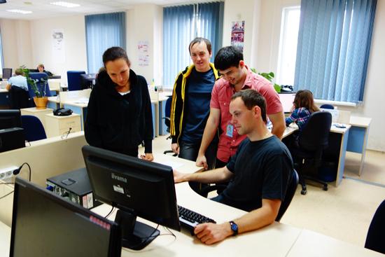 Команда EPAM в 2014 году