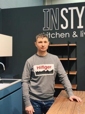 Роман Сидоренко, основатель компании дизайнерской мебели Instyle, 39 лет