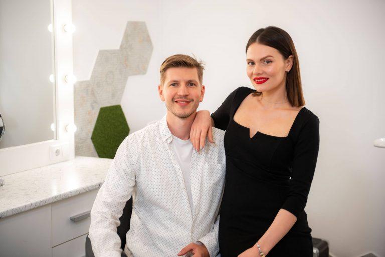 Тамара Залізняк та Ігор Пилипишин, засновники Beauty Hunter Store та Beauty Hunter Lab