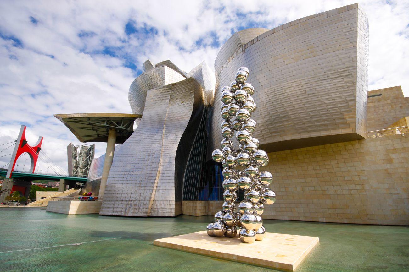 Музей Ґуґґенгайма в Більбао, ІспанІя