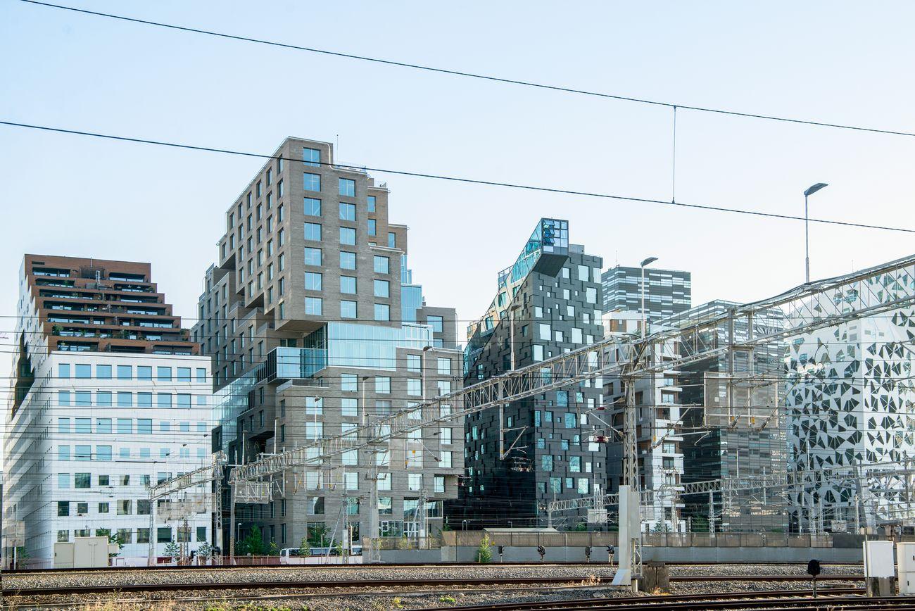 Квартал «Штрихкод» в Осло, Норвегія-2015