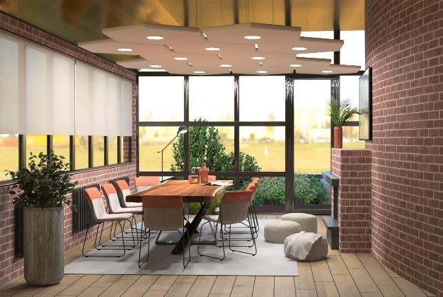 Так будет выглядеть новый офис Credit Agricole