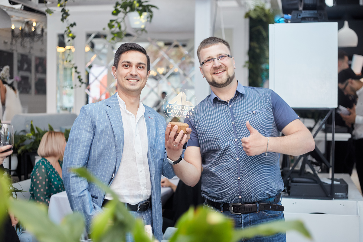 Григорий Быков и Дмитрий Ткаченко, cооснователи юридической компании Adequate Lawyers, 32 и 35 лет