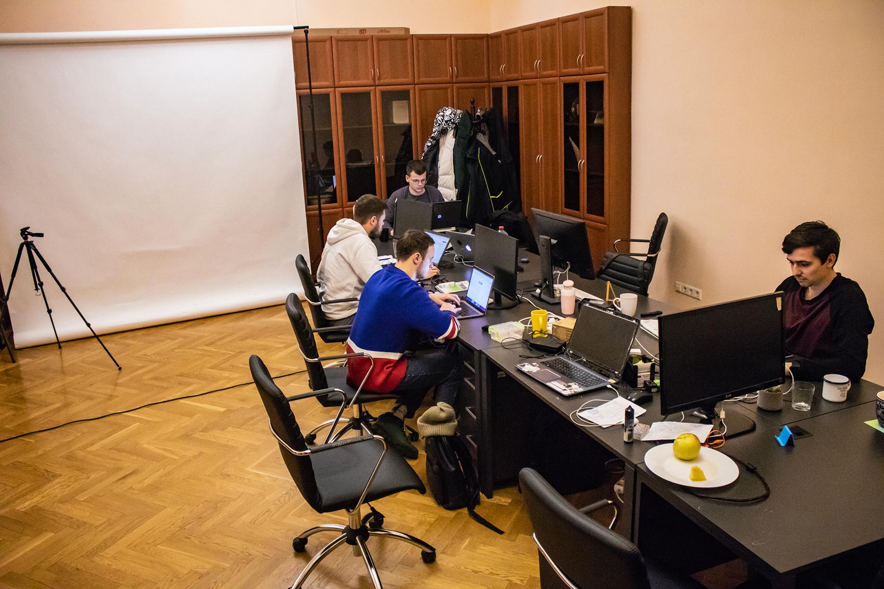 Кабинет сотрудников Минцифры. Фото: MC.today