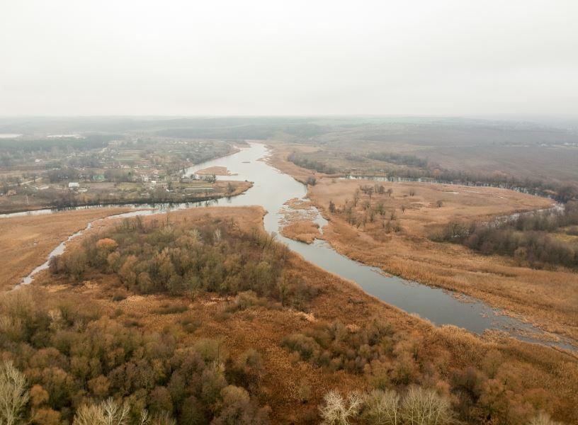 Река Рось неподалеку от Богуслава
