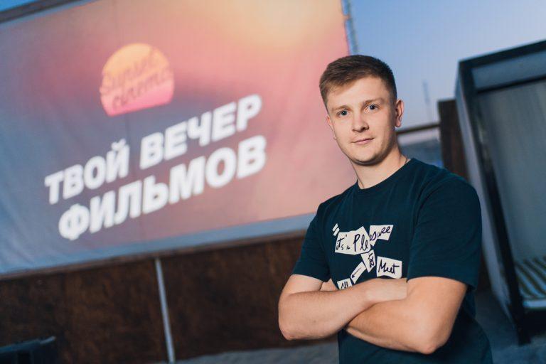 Владислав Череватый, собственник сети кинотеатров под открытым небом Sunset Cinema, 24 года